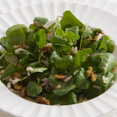 Watercress and Toasted Walnut Salad photo