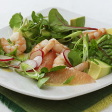 Shrimp, Grapefruit, and Avocado Salad photo