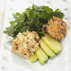 Crab Salad with Mango Dressing photo