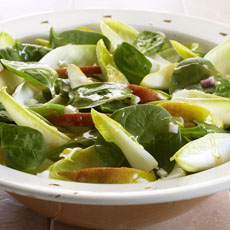 Spinach, Pear, and Endive Salad photo