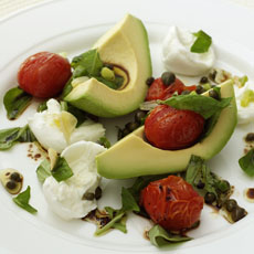 Avocado, Tomato, and Mozzarella Salad photo
