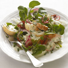 Lobster Salad with Watercress photo