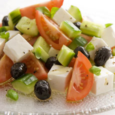 Greek Tomato and Feta Salad photo