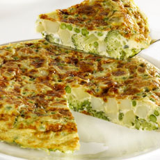 Spanish Vegetable Tortilla photo