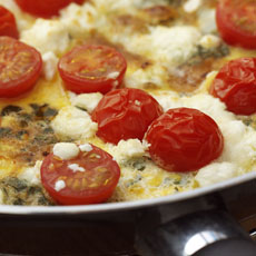 Herb and Goat Cheese Frittata photo