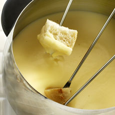Authentic Swiss Fondue photo
