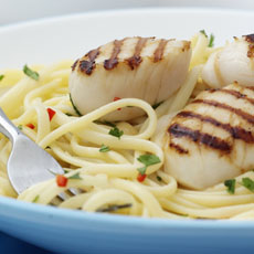 Linguine with Scallops photo