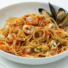 Spaghetti Frutti di Mare photo
