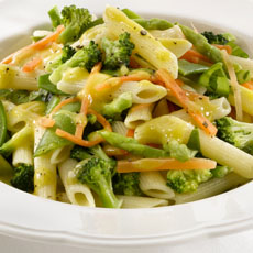 Penne and Vegetable Salad photo