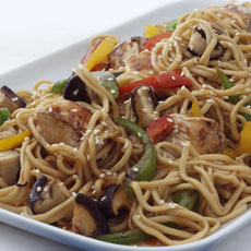 Chicken and Noodle Stir-fry photo
