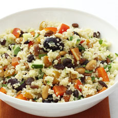 Couscous with Pine Nuts and Almonds photo