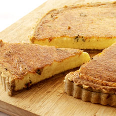 Parmesan Cheese and Walnut Tart photo