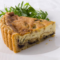 Olive, Thyme, and Onion Tart photo