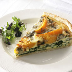 Squash and Gorgonzola Tart photo