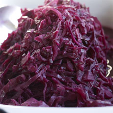 Braised Red Cabbage with Apple photo