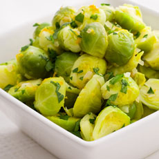 Brussels Sprouts with Orange photo