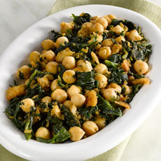 Chickpeas with Spinach photo