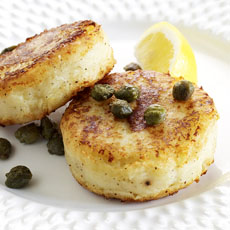 Potato and Parmesan Cakes photo