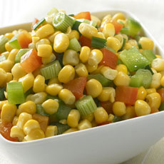 Corn and Peppers photo
