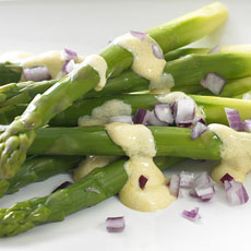 Asparagus with Mustard Sauce photo