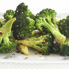 Stir-fried Broccoli with Sesame Seeds photo