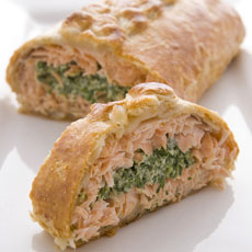 Salmon in Puff Pastry photo