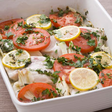 Herb-baked Swordfish photo