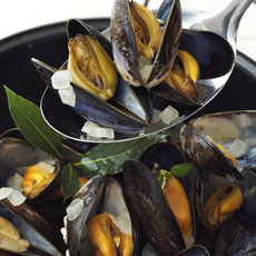 Mussels in White Wine Sauce photo