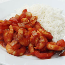 Shrimp Diavolo photo