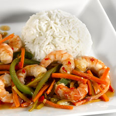 Sweet and Sour Shrimp photo