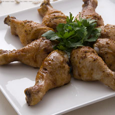 Honey Mustard Barbecued Chicken photo
