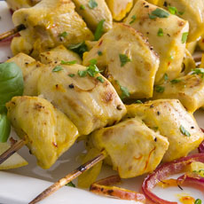 Saffron Chicken Brochettes photo