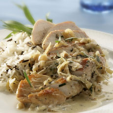 Creamy Tarragon Chicken photo