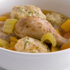 Chicken Stew with Herb Dumplings photo