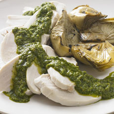 Chicken with Herb Sauce photo