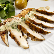 Lemon Honey Chicken Breasts with Mustard Mayonnaise photo