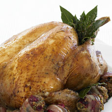 Roast Turkey with Spiked Gravy photo