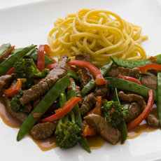 Chinese Chile Beef Stir-fry photo