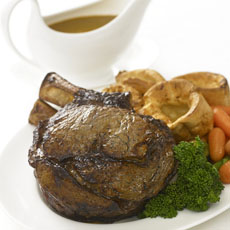 Roast Rib of Beef photo