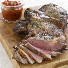 Butterflied Leg of Lamb photo