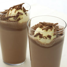 Chocolate Milk Shake ''Float'' photo