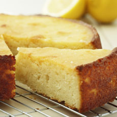 Sticky Lemon Cake photo