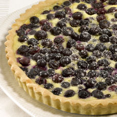 Blueberry Cream Cheese Tart photo