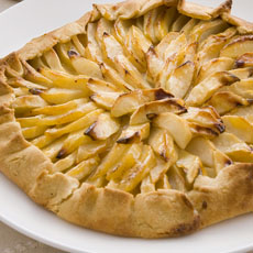 Apple and Pear Galette photo