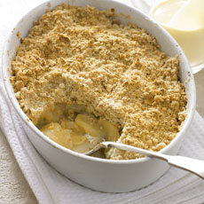 Apple-Ginger Crisp photo