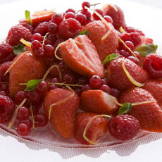 Berries with Citrus Syrup photo