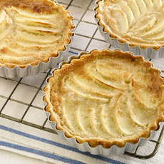 Sour Cream, Apple, and Almond Tartlets photo