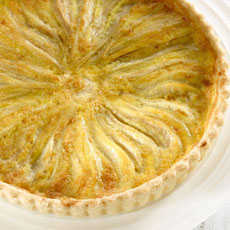 Pear and Star Anise Tart with Ginger Crust photo