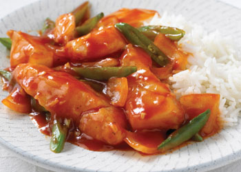Sweet and Sour Stir-fried Fish with Ginger