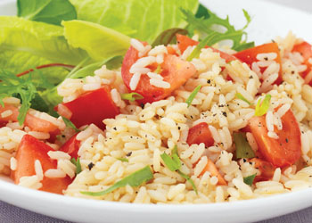 Tomato and Tarragon Pilaf